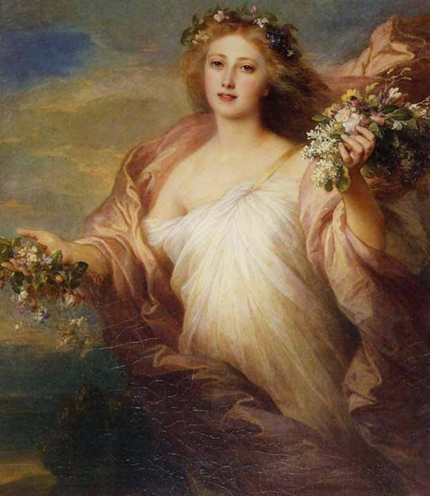 Franz Xaver Winterhalter - The Spring