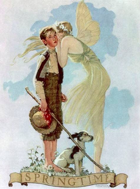 Norman Rockwell_s Springtime