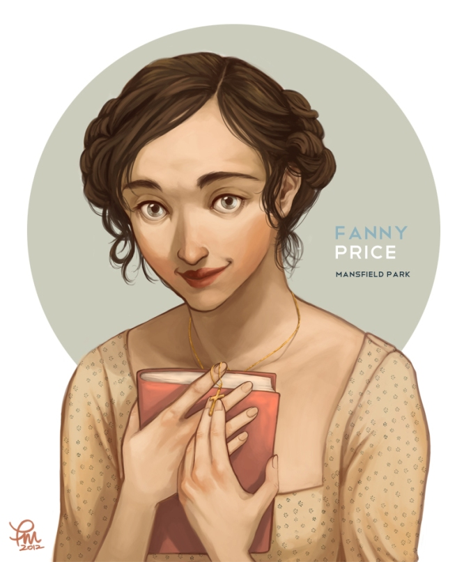 Mansfield Park- Fanny Price by Flominowa
