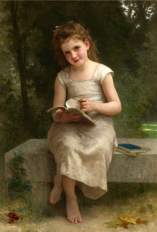 The Reader by Bouguereau