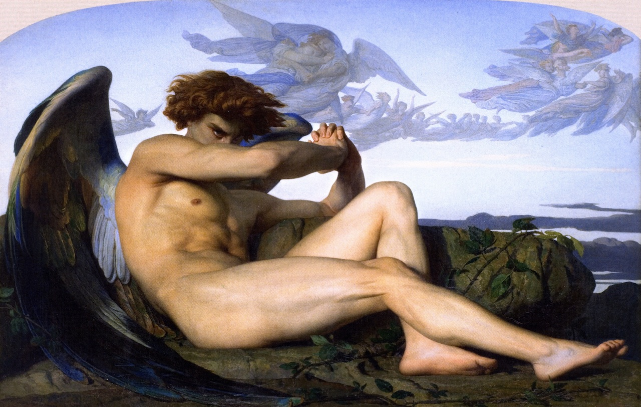 Fallen Angel by Alexandre Cabanel