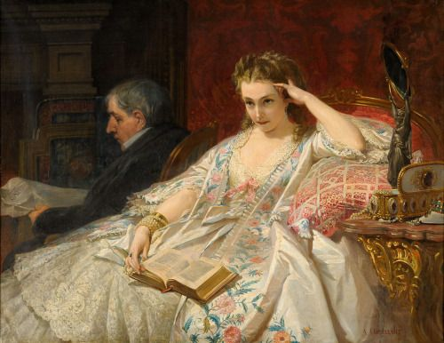 Contemplation - Felix Armand Heullant