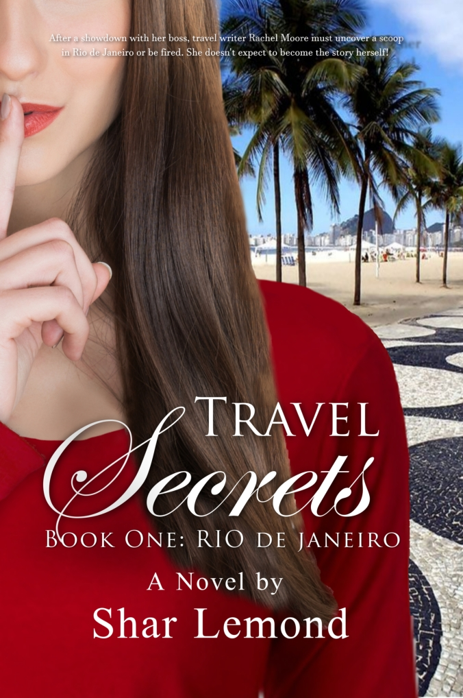 Travel Secrets words shadowed.Kindle
